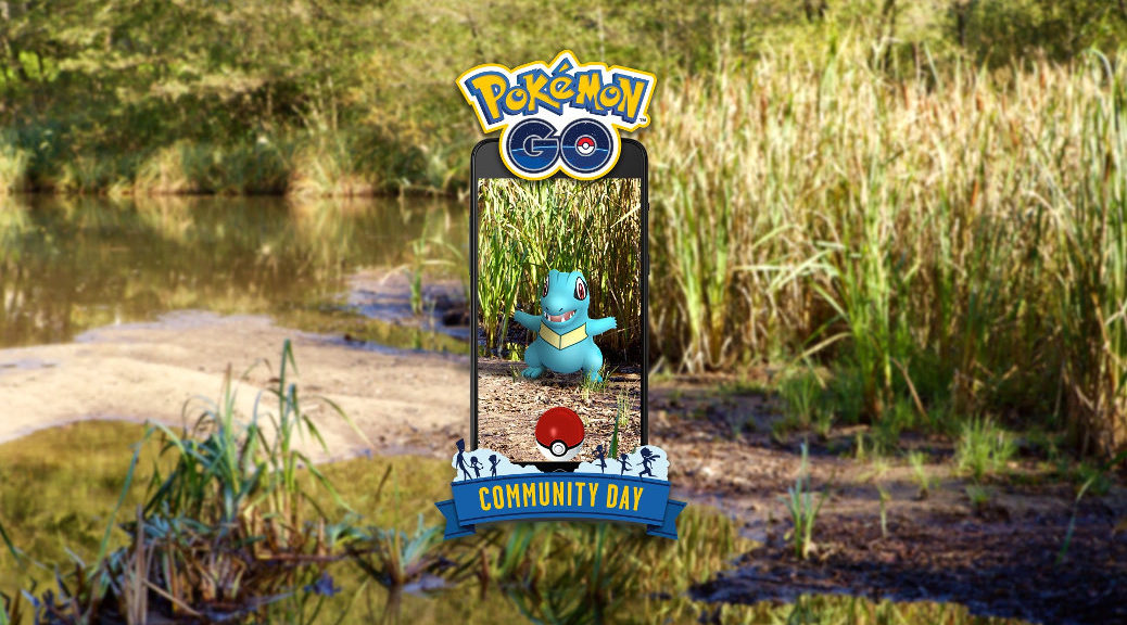 Totodile Pokémon GO community day – 12. ledna