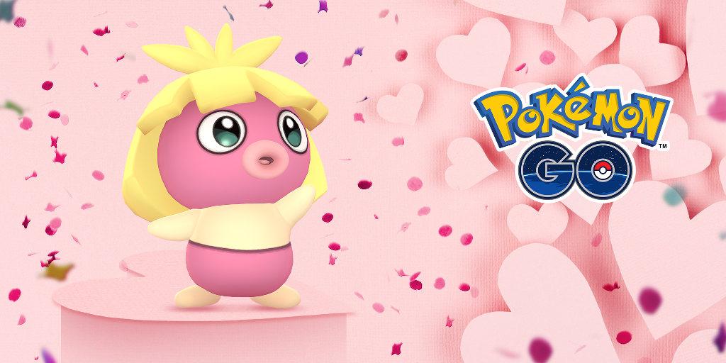 Valentýn v Pokémon GO 2019