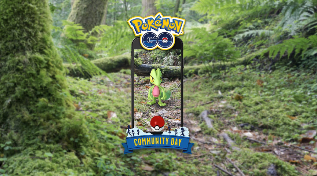 Treeco Pokémon GO community day – 23. března