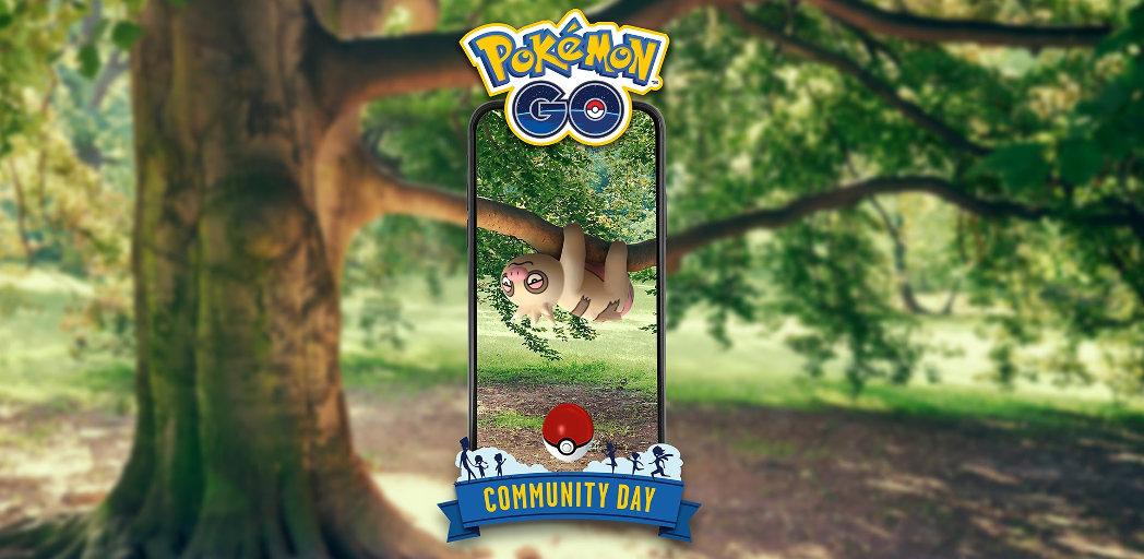 Slakoth Pokémon GO community day – 8. června