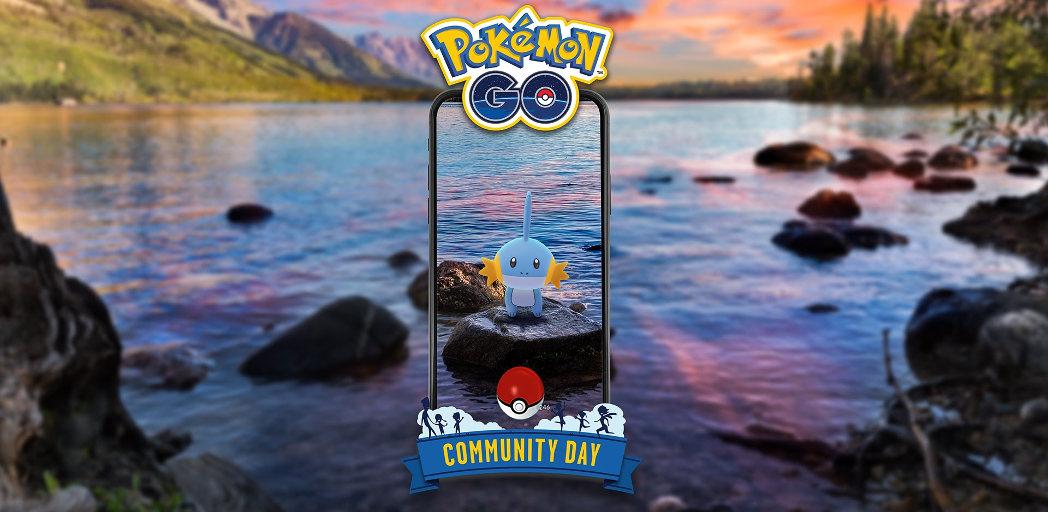 Mudkip Pokémon GO community day – 21. července