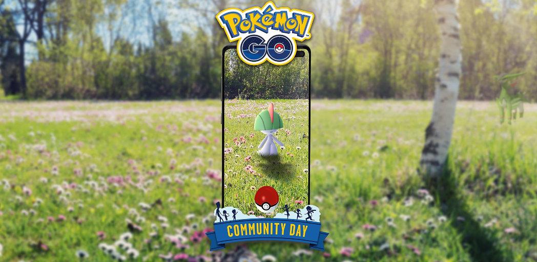 Ralts Pokémon GO community day – 3. srpna