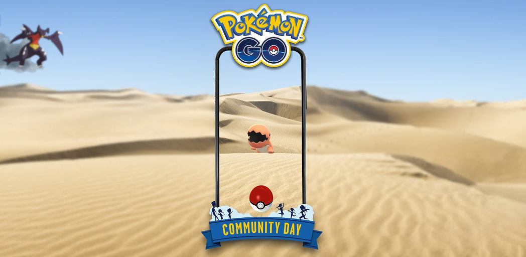 Trapinch Pokémon GO Community Day – 12. října